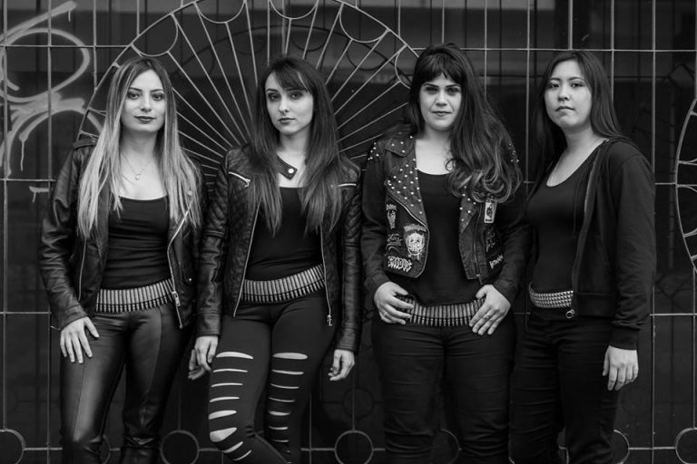 Sinaya, banda de Death Metal fundada em 2010, em São Paulo