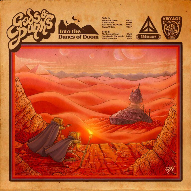 'Into the Dunes of Doom'  será lançado pela união dos selos brasileiros Abraxas e Dinamite Records e do chileno Red House.