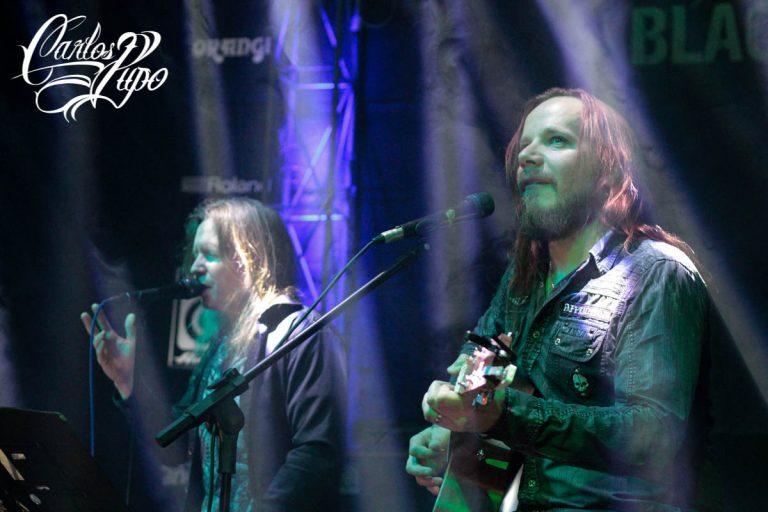 A proximidade com o público marcou o show das lendas do power metal finlandês