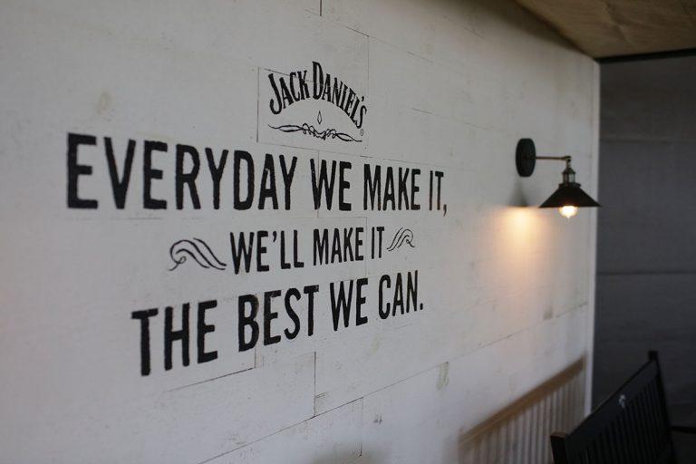No festival você tem a chance de degustar um bom Jack Daniel's