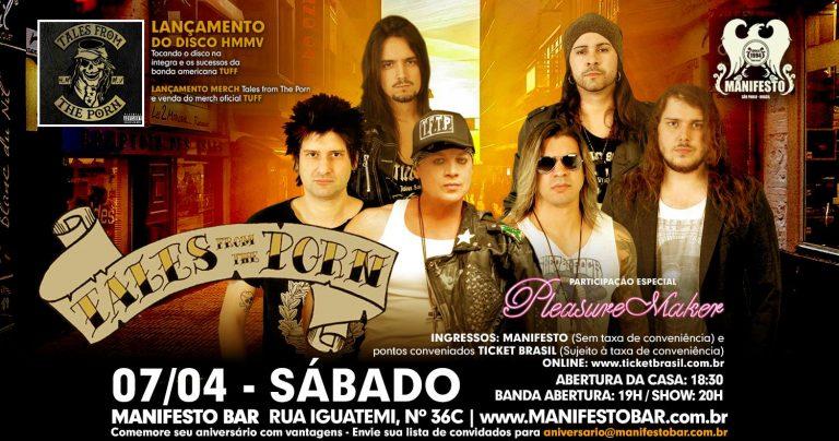 O show de estreia acontece no dia 7 de abril, às 18h, no Manifesto Bar, em São Paulo