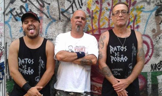 Periferia S.A., formada por Jabá e Dru, antigos integrantes do Ratos de Porão, e Jão, guitarrista e membro fundador do grupo