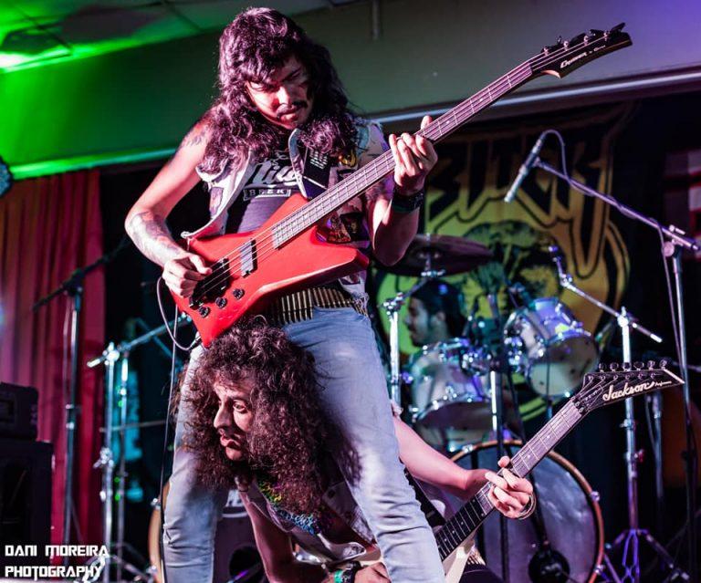 Biter traz o heavy metal tradicional ao festival