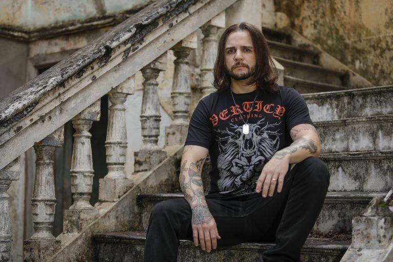 Angelo Torquetto, ex-guitarrista da banda Legacy of Kain
