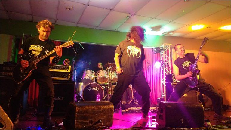 Banda chilena de black metal Undertaker of the Damned, uma das atrações internacionais