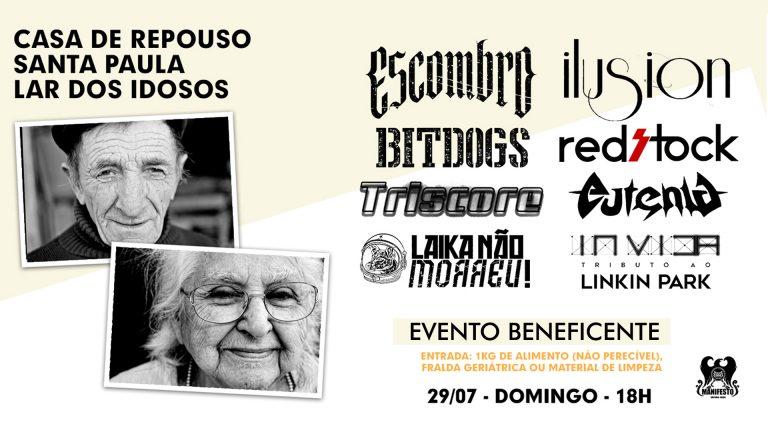 Evento beneficente em prol da Casa de Repouso Santa Paula (Embu-Guaçu)