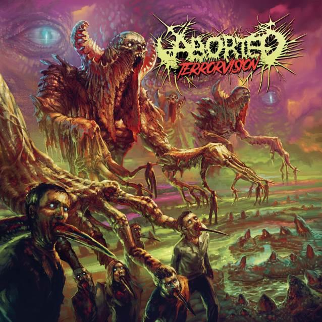 Arte da capa feita por Par Olofsson, responsável por trabalhos para bandas como Exodus, Immolation e Immortal