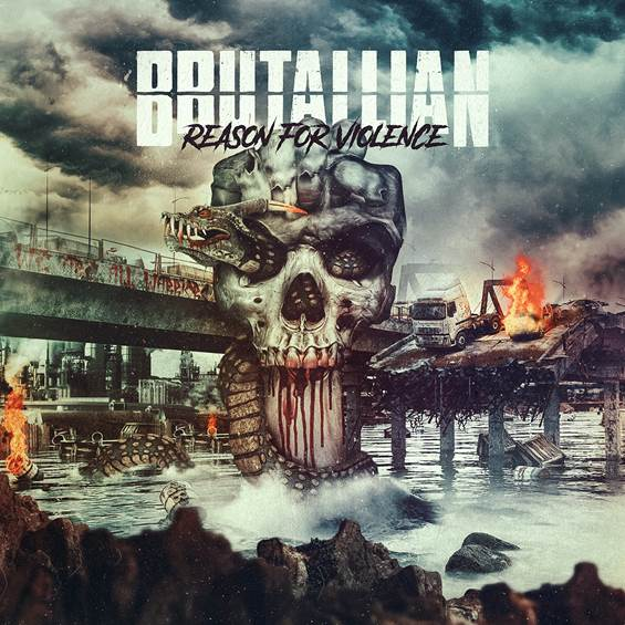 Acesse sua plataforma favorita e escute Reason for Violence, novo álbum do Brutallian