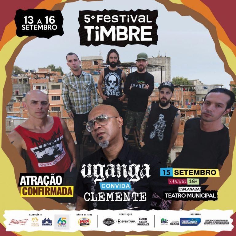 """""""Uganga Convida Clemente"""", onde o sexteto recebe no palco o vocalista Clemente Tadeu"""