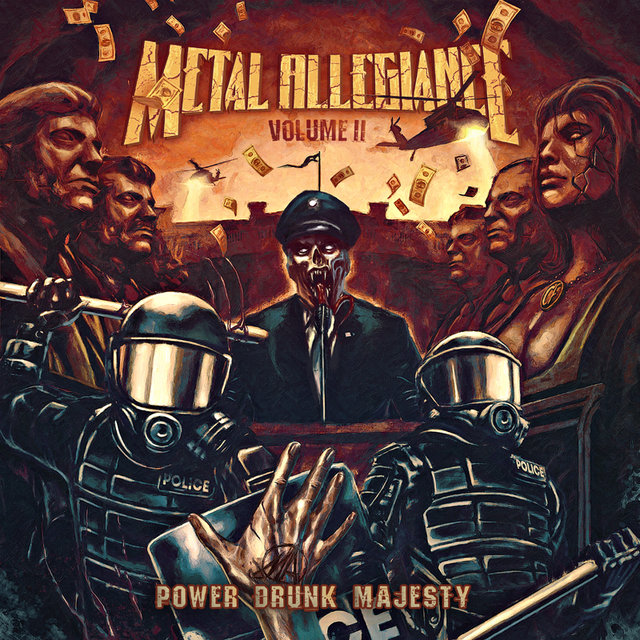 """Volume II – Power Drunk Majesty"", será lançado em 7 de setembro de 2018 pela Nuclear Blast Entertainment"