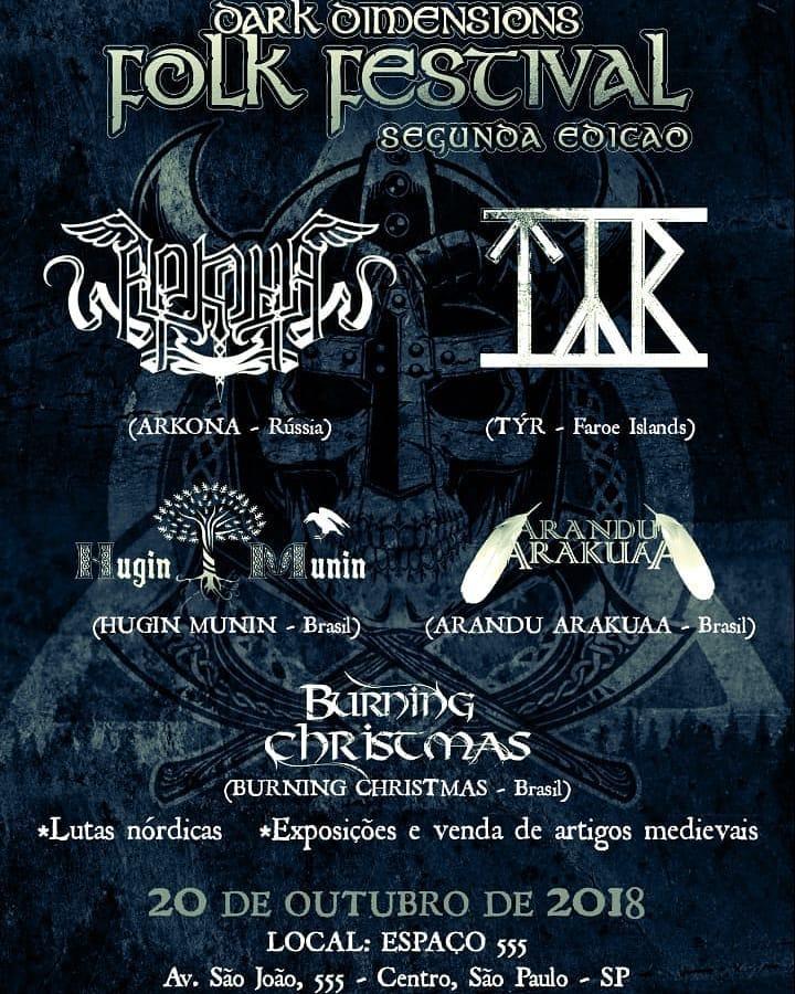 Segunda edição do evento promete atrair novamente fãs das culturas folk e viking a São Paulo