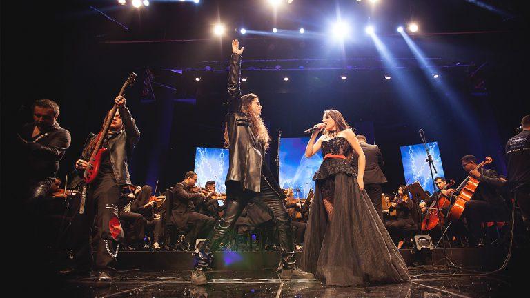 Realizado em junho no Teatro Goiânia, evento reuniu banda goiana de metal com a Orquestra Sinfônica Jovem de Goiás
