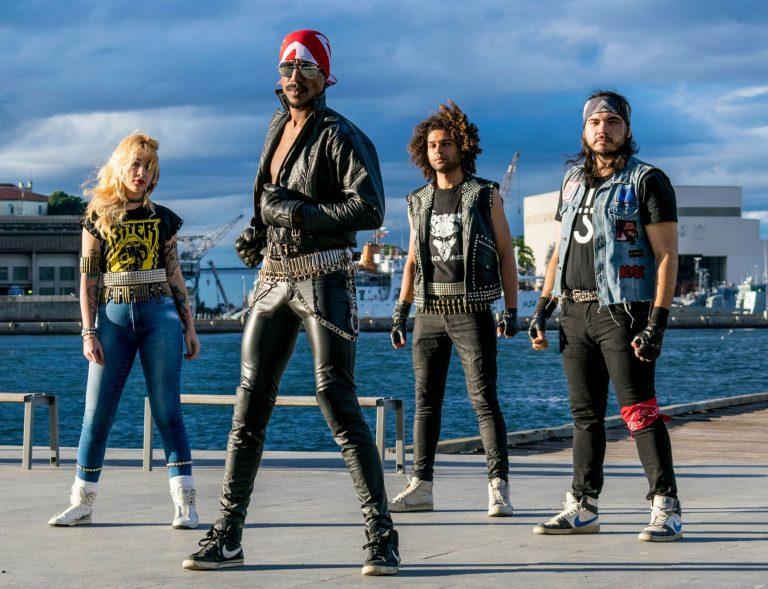 """O grupo lançou o EP """"Lutaremos pelo Metal"""" (2017) nas plataformas de streaming"""