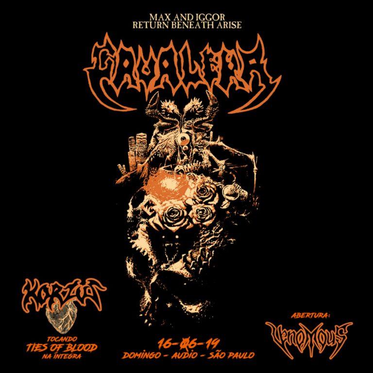 Grupo paulistano se junta ao Korzus para show dos irmãos Cavalera na turnê 'Return to Beneath Arise'