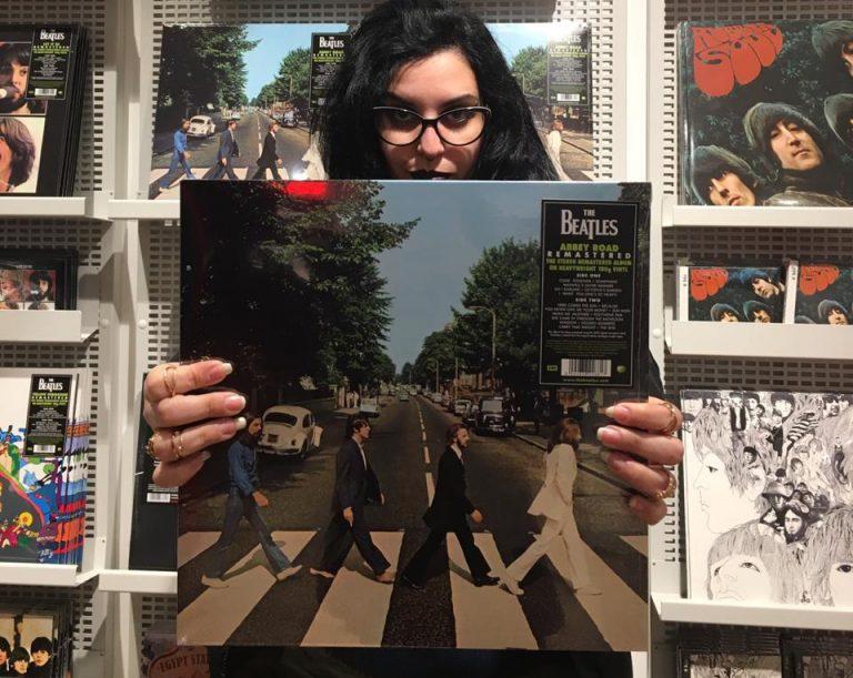 Loja do estúdio Abbey Road em Londres