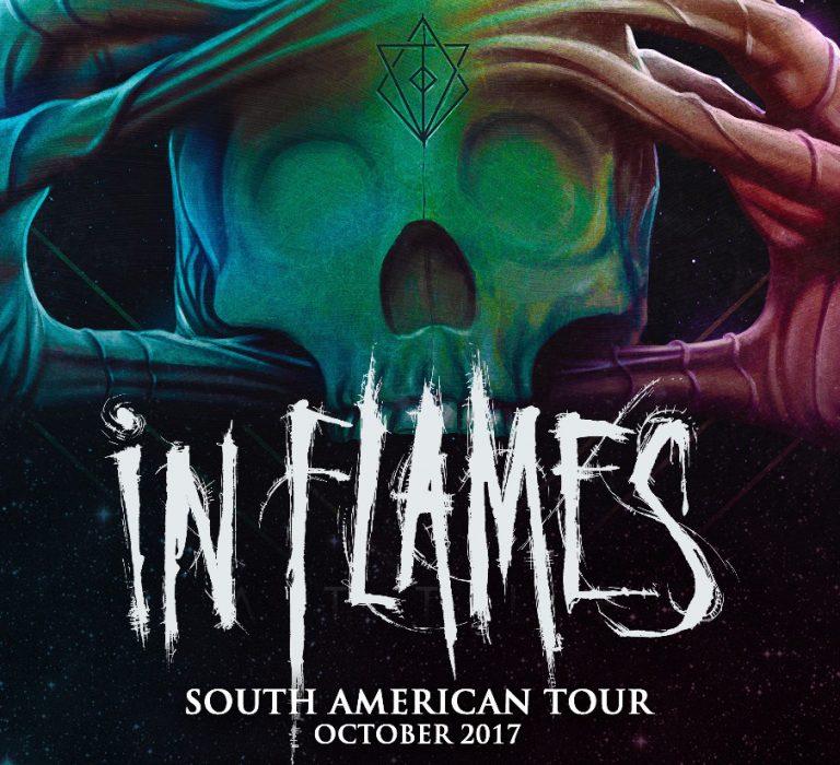 In Flames volta ao Brasil após 8 anos