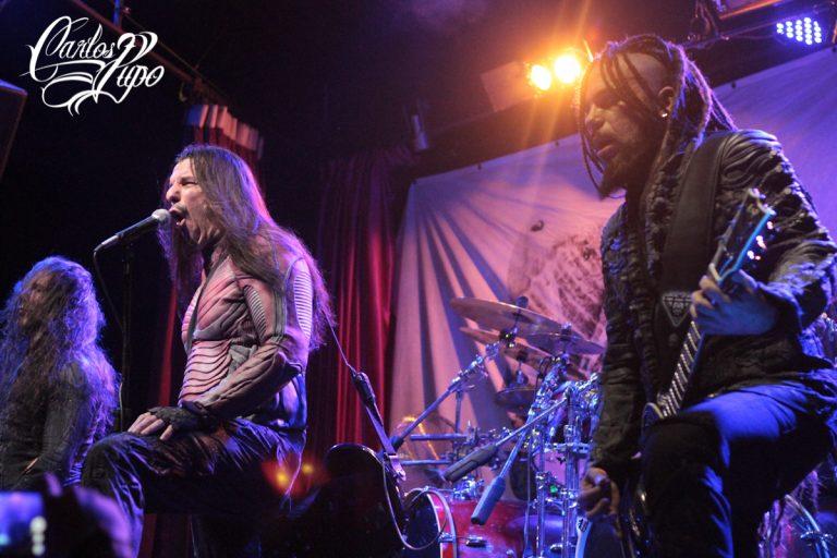 Banda grega de death metal sinfônico, apresentou-se no Hangar 110, em São Paulo, em 2017