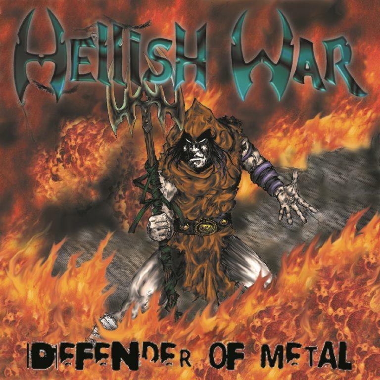 """Nova edição digital de """"Defender Of Metal"""", do Hellish War, já está disponível"""