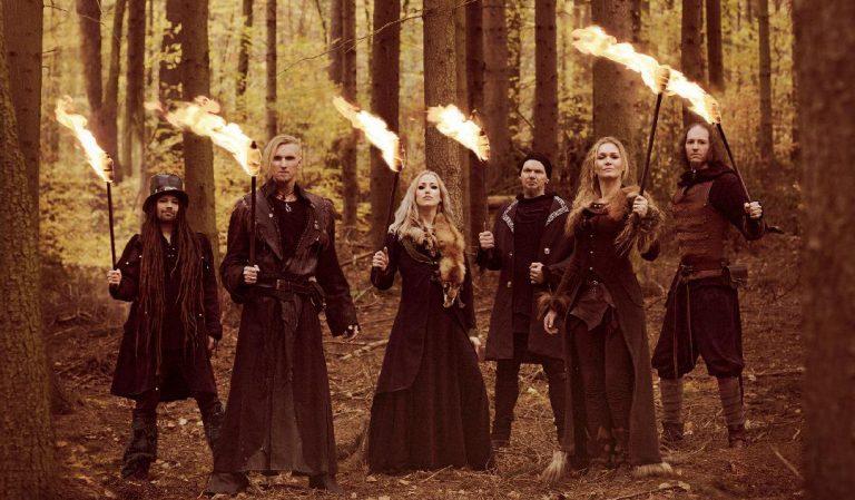 A banda alemã Faun, que participa do Odin's Krieger Fest – Stay Home Edition
