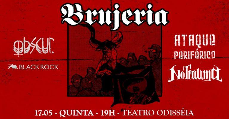 Agora com status de banda clássica, ícones do death/grind tocam dia 17/05 no Teatro Odisseia