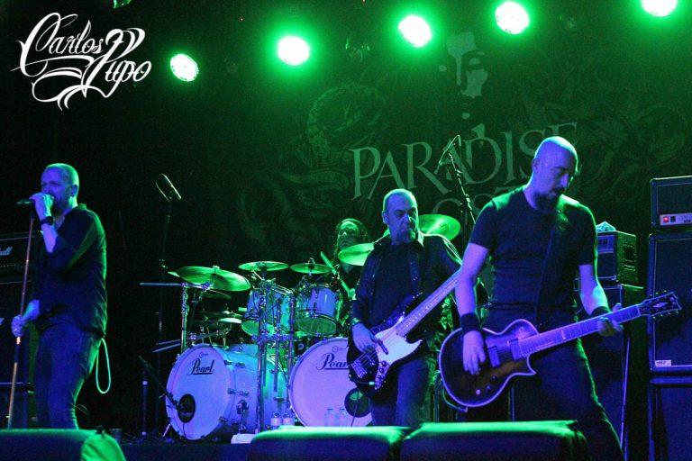 ARQUIVO - Paradise Lost se apresenta no Carioca Club em 2018 na turnê de promoção do álbum Medusa.