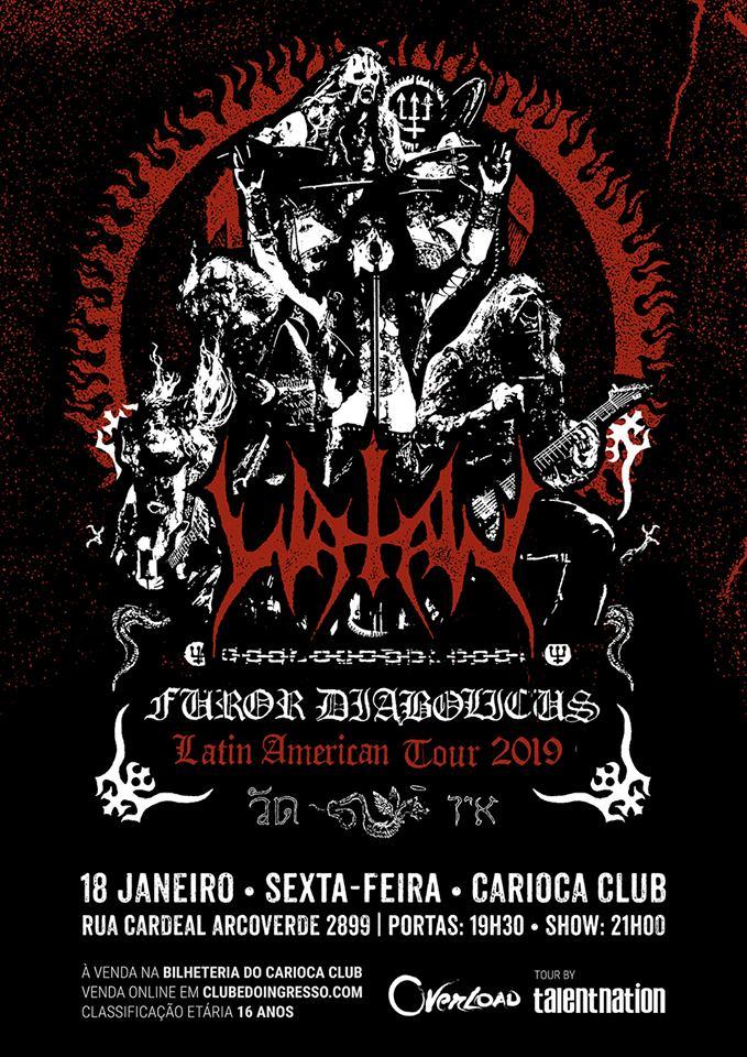 Polêmica banda sueca é uma das grandes sensações do metal extremo mundial na atualidade, devido ao excelente feedback do novo álbum Trident Wolf Eclipse