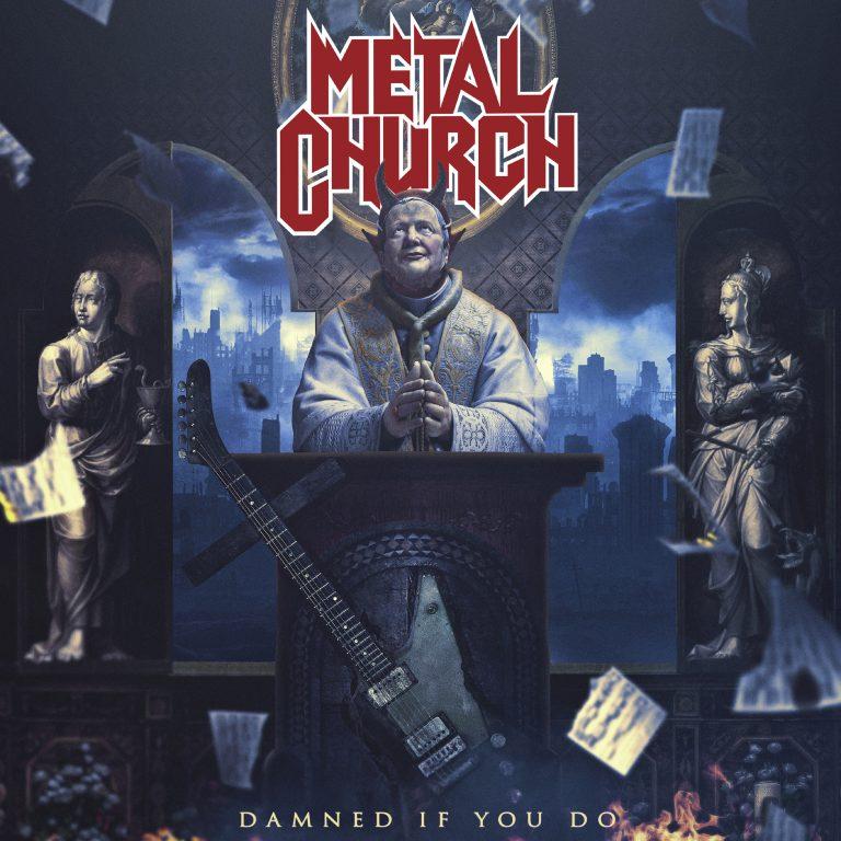 """""""Damned If You Do"""", que será lançado no dia 7 de dezembro pela Nuclear Blast Records"""