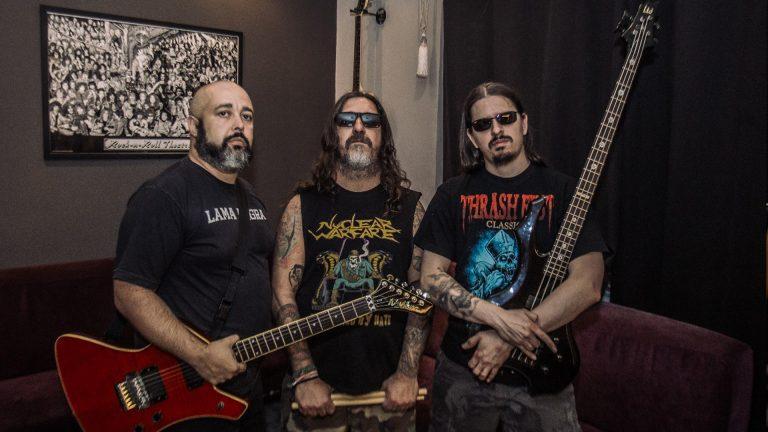 Sexto álbum do trio será lançado em junho pela Distro Rock Records e Metal Under Store