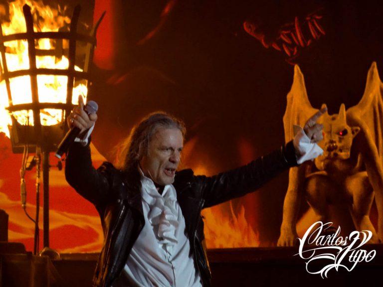 ARQUIVO - O Iron Maiden se apresenta no Estádio do Morumbi, em São Paulo, no domingo, dia 6 de outubro, como parte da turnê mundial