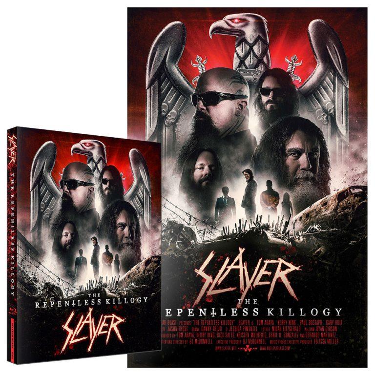 Blu-Ray e pôster do show gravado no Fórum de Los Angeles em 5 de agosto de 2017