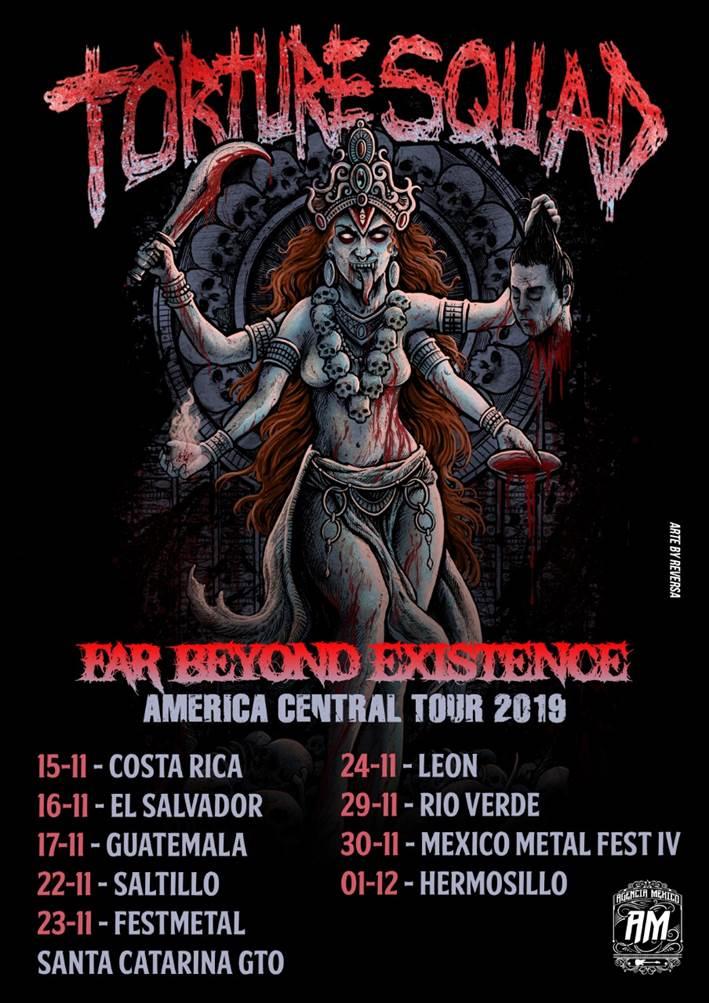 Torture Squad embarcará na primeira turnê pela América Central