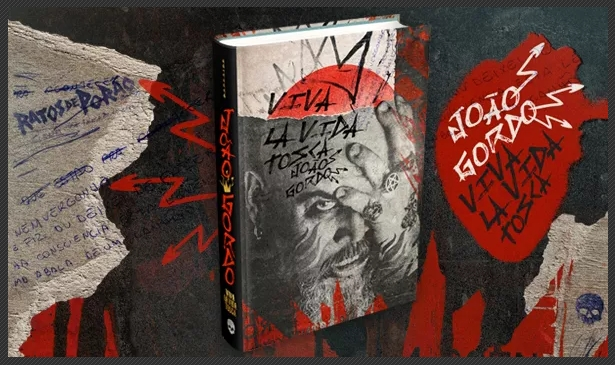 Viva La Vida Tosca, biografia de João Gordo escrita em parceria com o jornalista André Barcinski,, lançada em 2016 pela Darkside Books