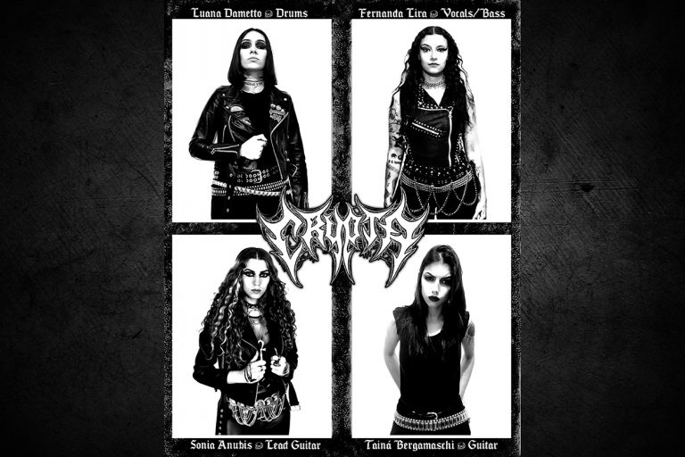 Fernanda Lira e Luana Dametto divulgam CRYPTA, novo projeto de Death Metal