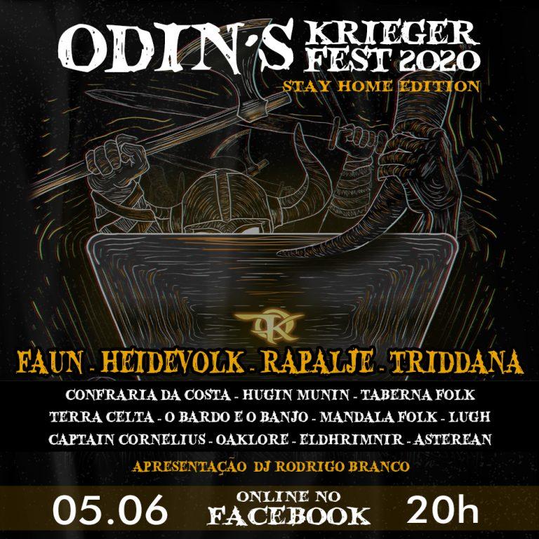 Evento será transmitido pelo Facebook e terá apresentações exclusivas de bandas internacionais de folk como Faun, Heidevolk e Rapalje