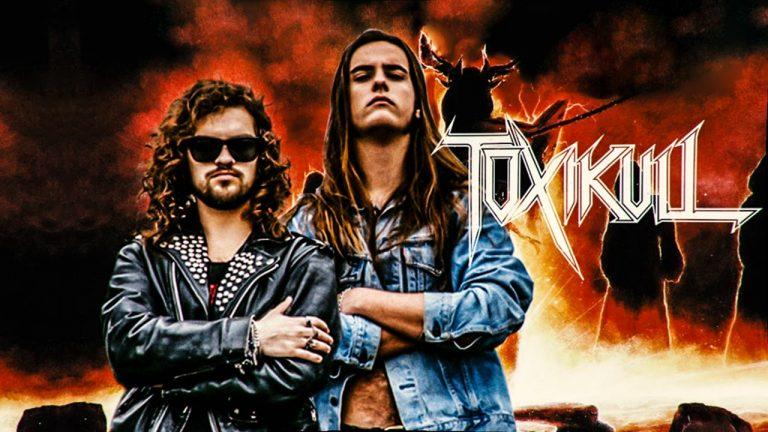 """Lex Thunder e Michael Blade (Toxikull): """"Toxikull é um heavy metal muscular com esteroides, tocado muito rápido"""""""