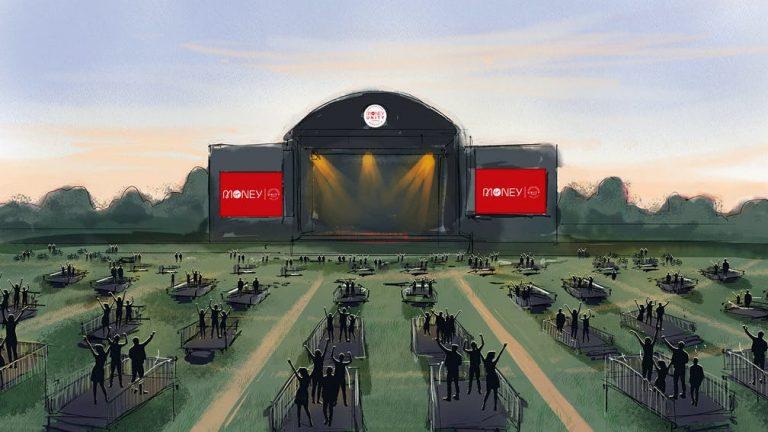 Produtoras pensam em construir locais de shows que permitem maior distanciamento social