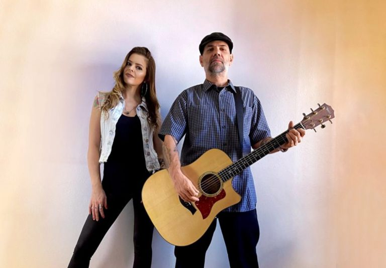 Kamille Huebner e Luciano Garcia, do Porto Laguna.