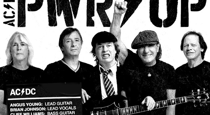 AC/DC anuncia novo álbum com Brian Johnson e Phil Rudd de volta à banda