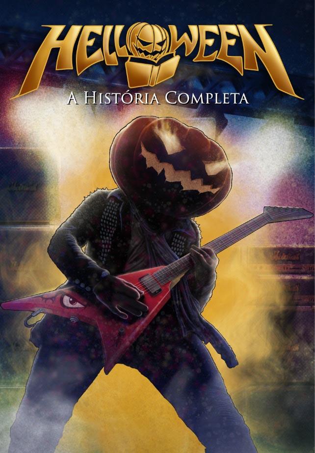 Livro da banda Helloween será lançado no Brasil