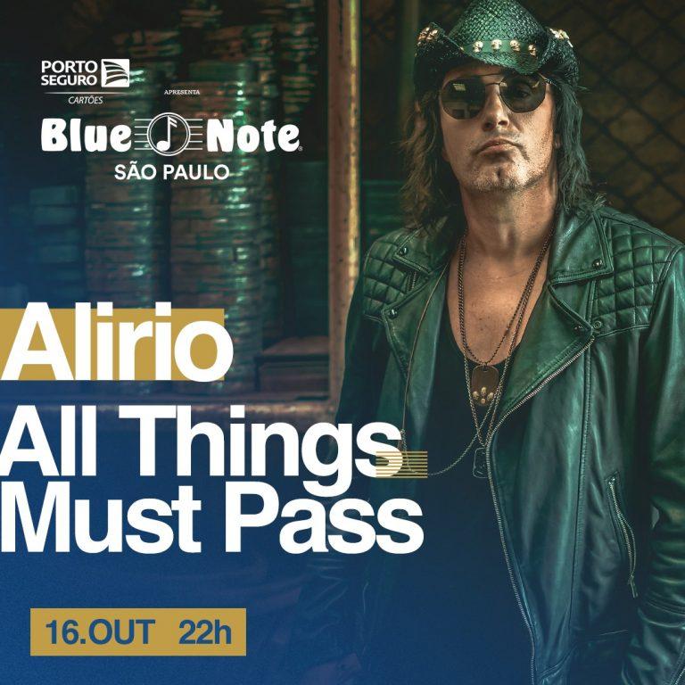 """Apresentação é parte do lançamento do álbum """"All Things Must Pass"""" e acontece no dia 16 de Outubro, em Sâo Paulo; ingressos estão à venda no site da Eventim"""