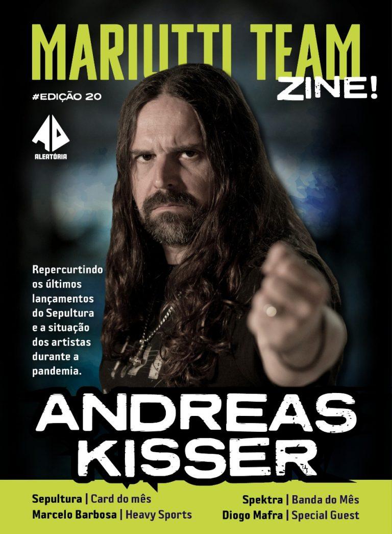 Revista conta com grande entrevista com o guitarrista do Sepultura e muito mais